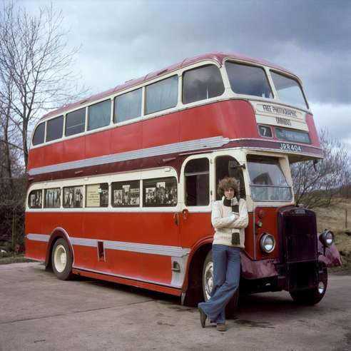 Daniel Meadows and the Free Photographic Omnibus, 1974
